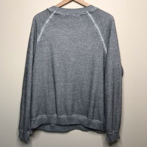 Wildfox Tops - Wildfox Grey Rose Sweatshirt